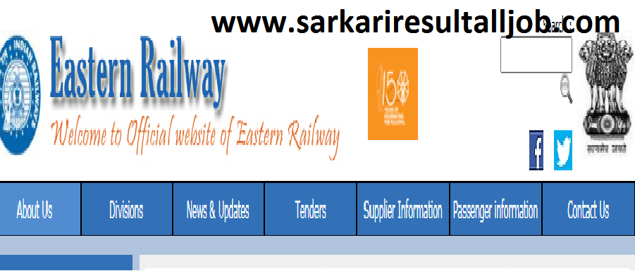 Eastern railway paramedical direct job without Exam 2021